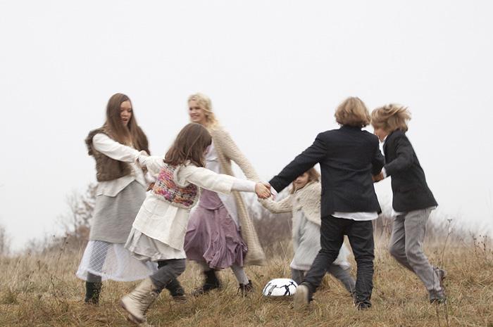 Sfera Urnen, Abschiedszeremonie Family